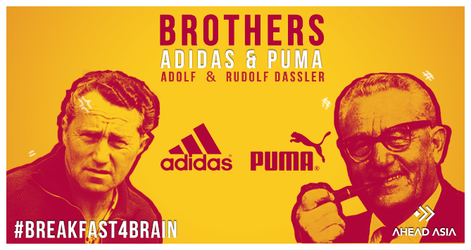 Breakfast4brain, Adidas, Puma