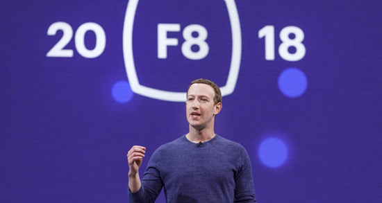F8 2018, Facebook, Mark Zuckerberg